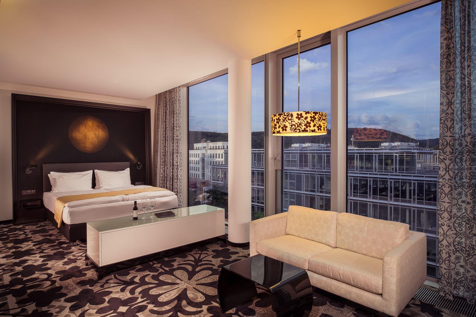 hotel kameha grand bonn anspuchsvolle Architektur