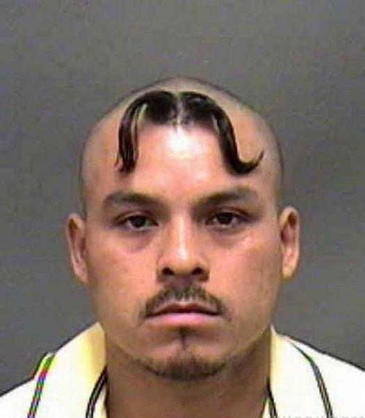 weird hair cut