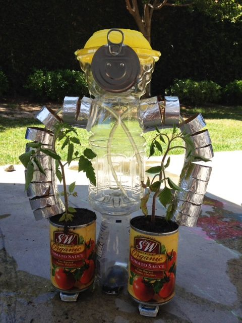 A fun project for adults and kids alike. Using recycled ...