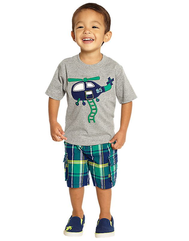 Assorted Styles Little Boys Gymboree Short and Shirt Outfits