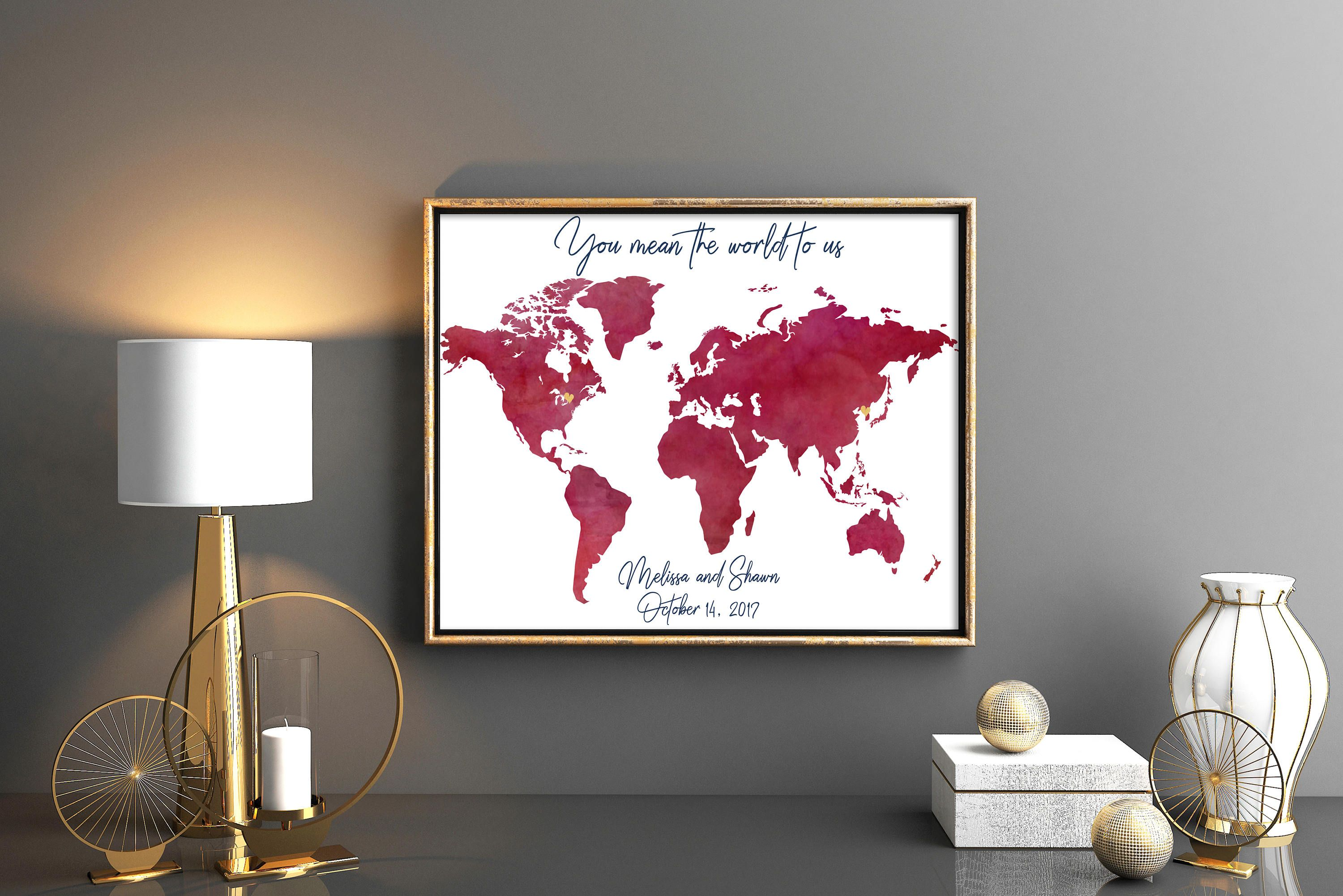 Burgundy wedding guestbook maroon world map guest book wine map burgundy wedding guestbook maroon world map guest book wine map wedding guest book ruby wedding map magenta scarlet guest book marshala gumiabroncs Image collections