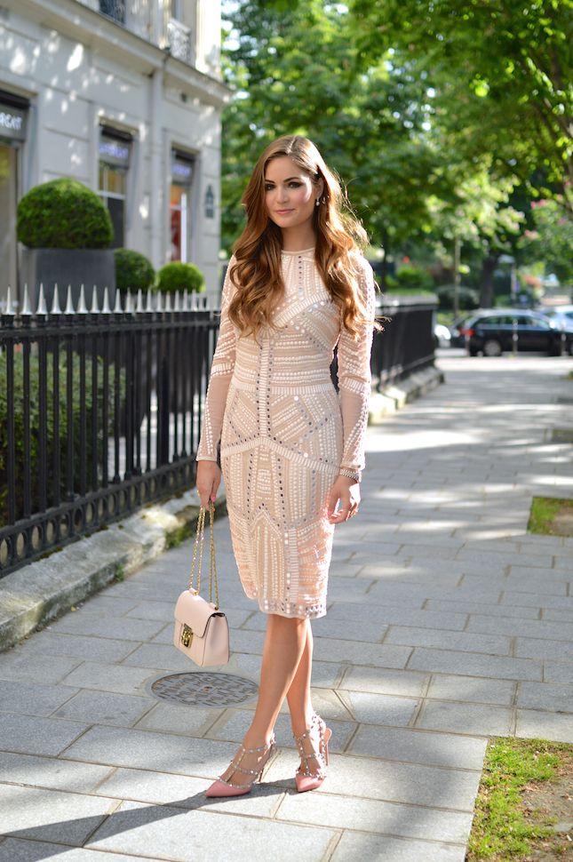 c21980f215 beautiful nude dress Nude Dress Outfits, Modest Outfits, Modest Dresses,  Modest Fashion,