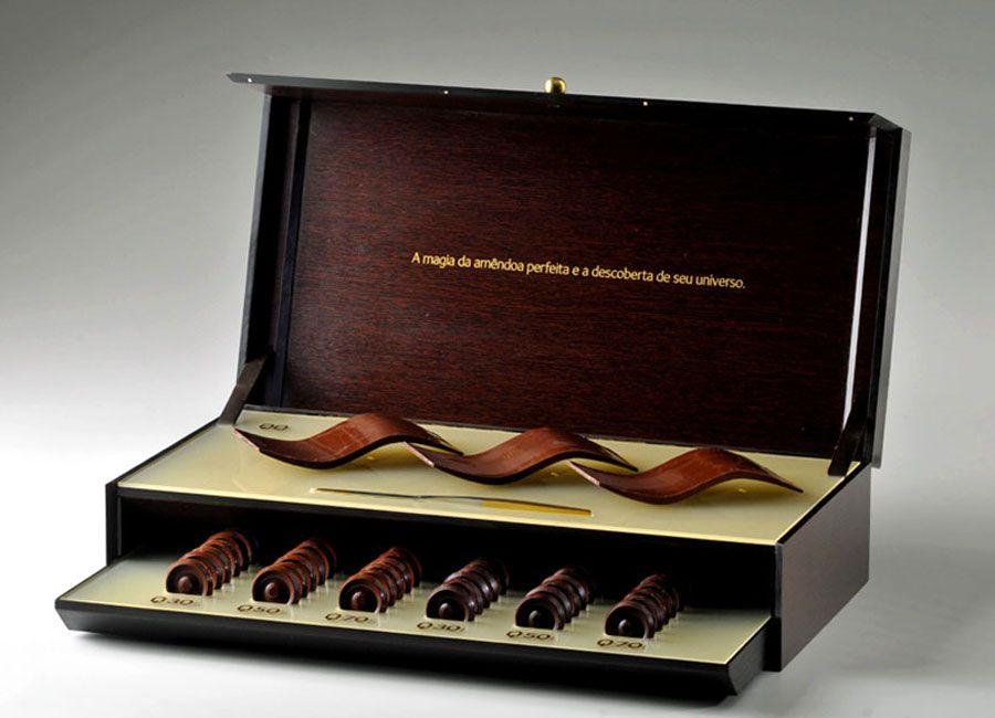 Caixa degustação chocolate #DesignerChocolate It's not even Terry's ... nor anyone who has a normal salary.