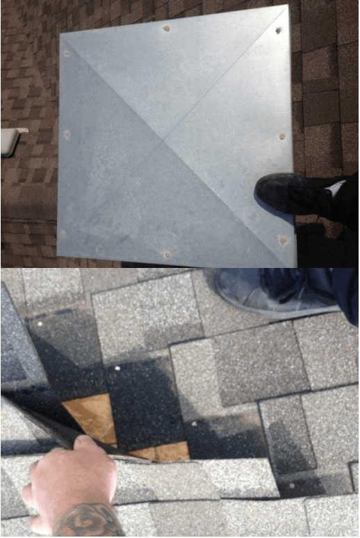 Edmonton Roof Repair on Flooring