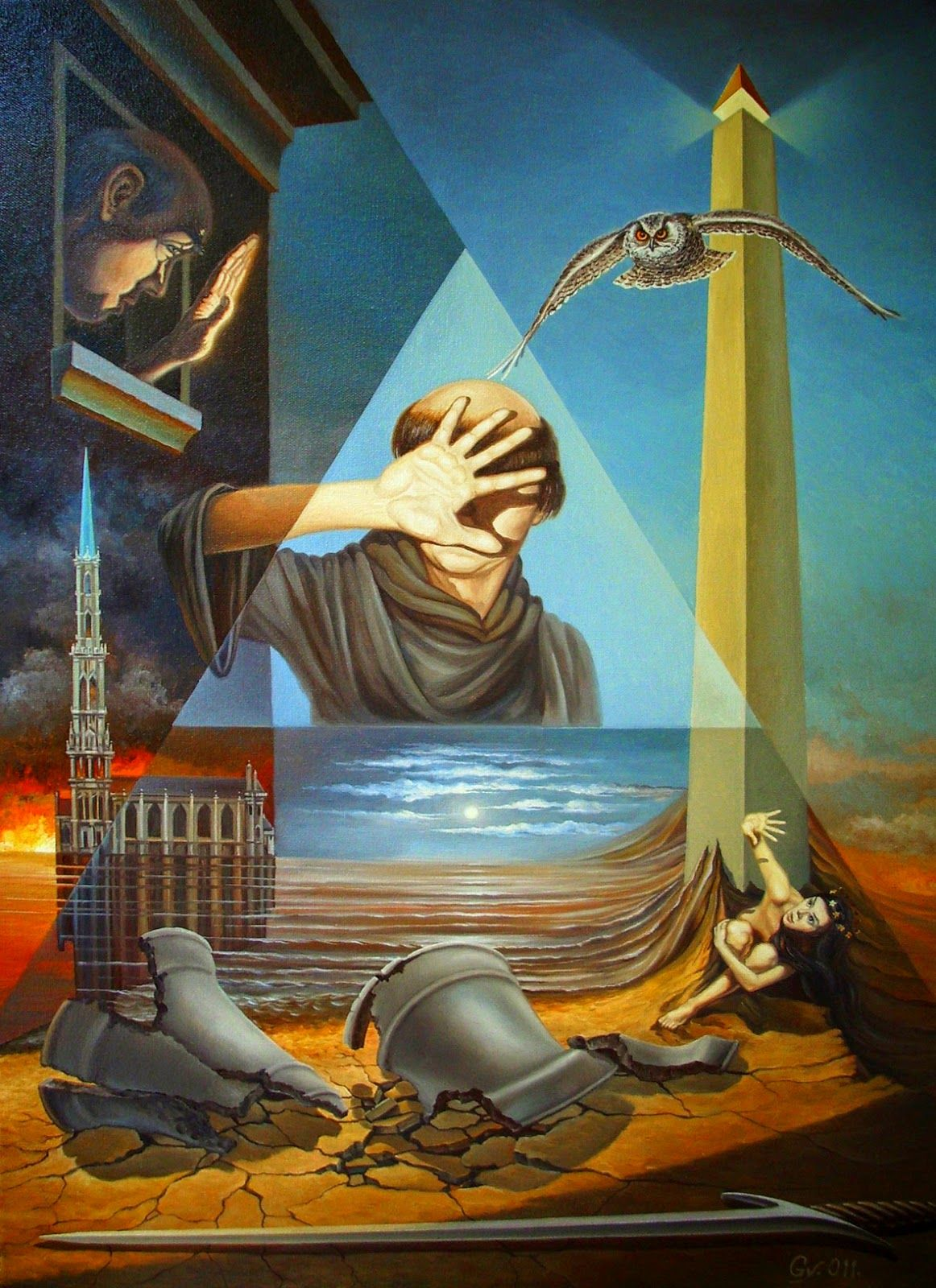 Beautiful Surreal paintings by Gyuri Lohmuller ...