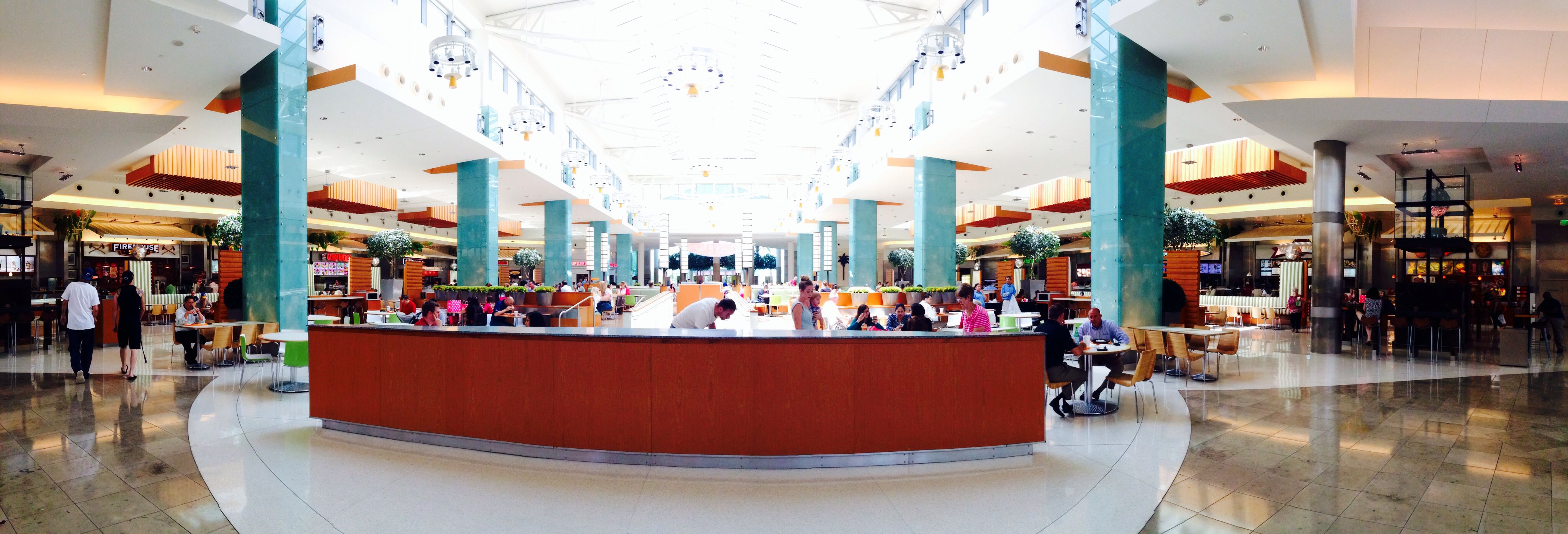 Mall at Millenia food court. Over 20 different vendors including ...