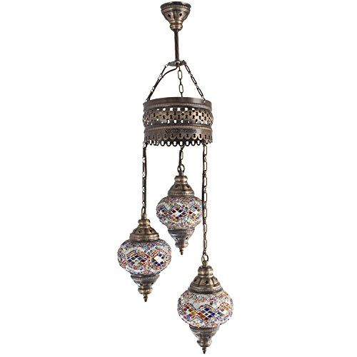 Chandelier ceiling lights turkish lamps hanging mosaic lights chandelier ceiling lights turkish lamps hanging mosaic lights pendant multi aloadofball Image collections