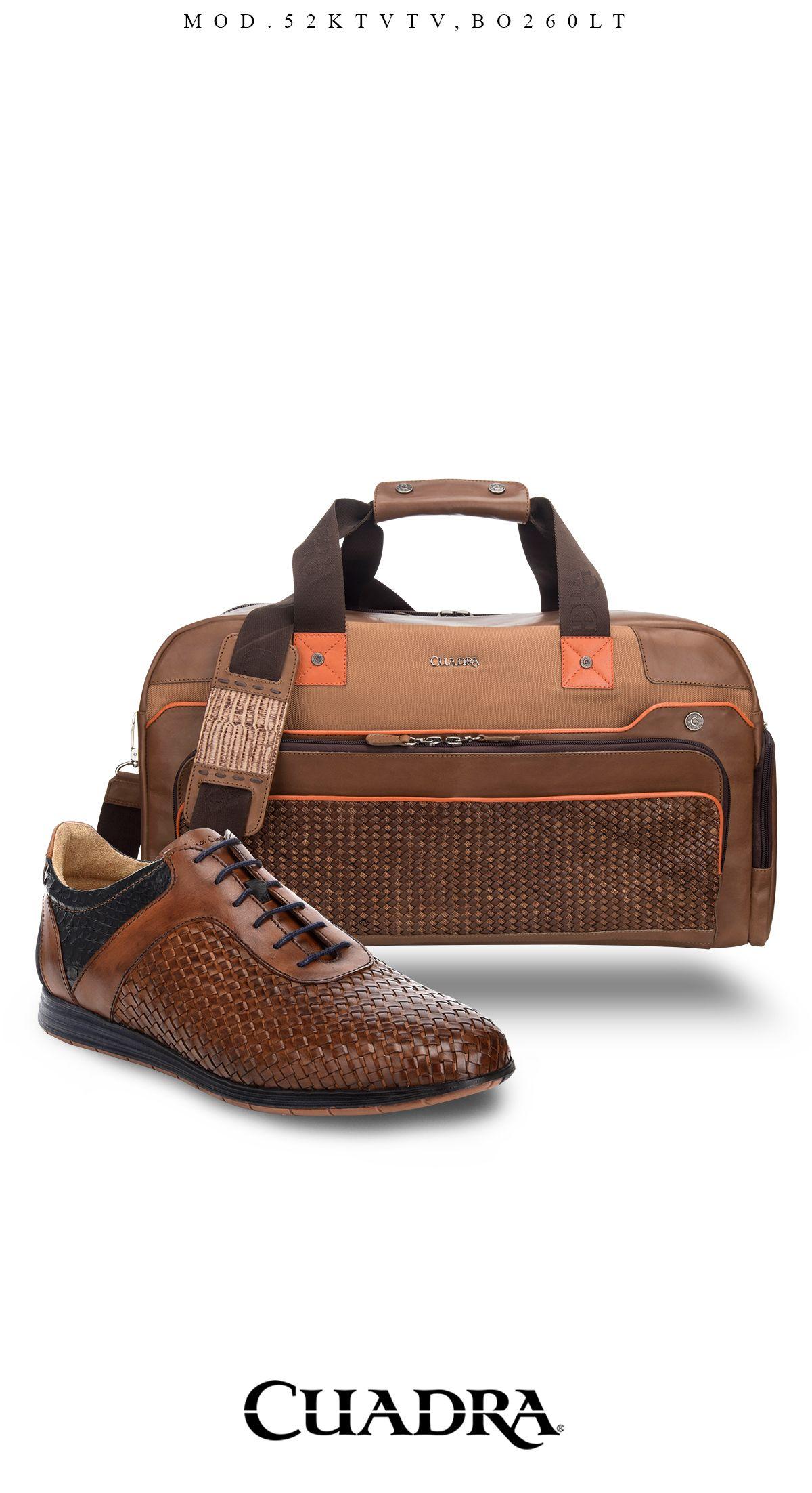 Viaje comodo y con estilo Cuadra.  shoes  bag  maletas  zapatos ... 639fd5b6919