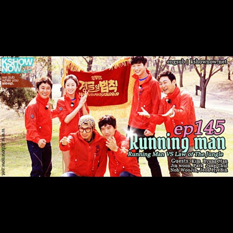 Rmep145 Running Man Vs Law Of The Jungle Running Man Law Of The Jungle Man Vs