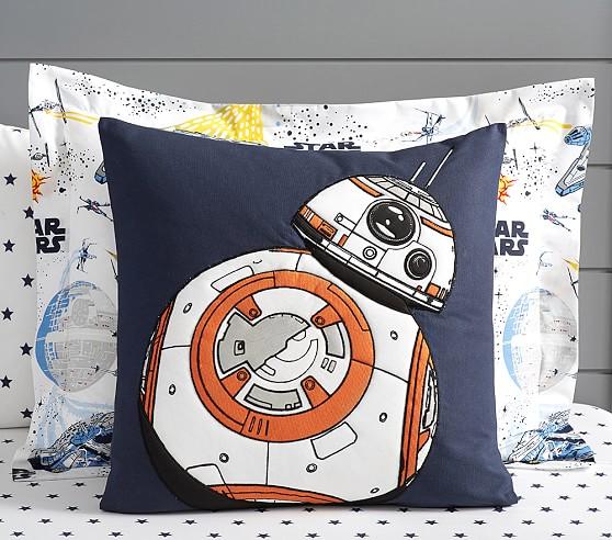 Star Wars Square Decorative Shams Star Wars Bedroom