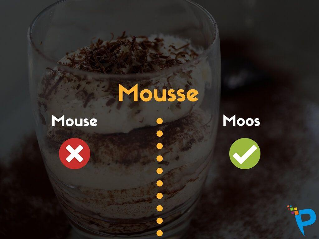 Mousse Pronunciation