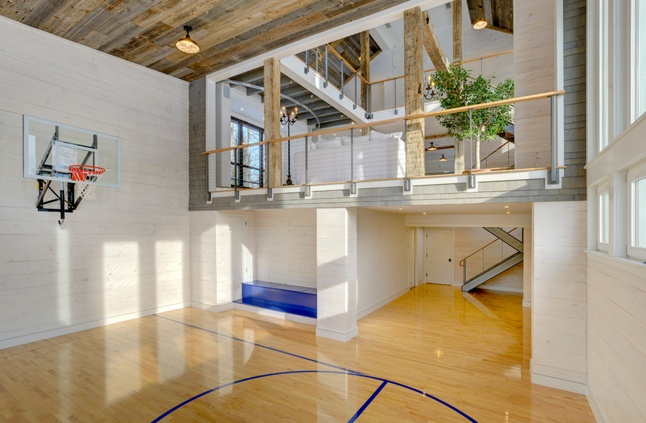 Indoor Basketball Courts Home Basketball Court Indoor Basketball Court House