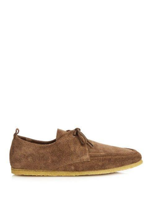 af29f91982d0 Burberry Shoes Accessories Crepe Sole Suede Shoes