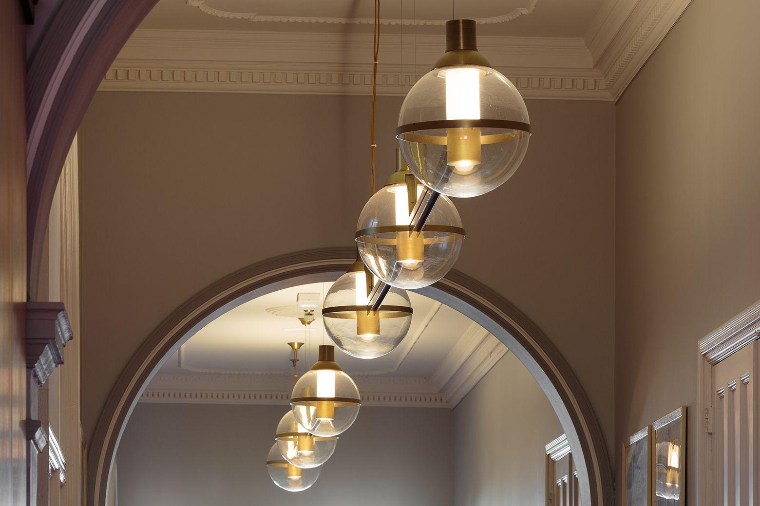 Aglo Systems Hallway Feature Lights Cranbrook School