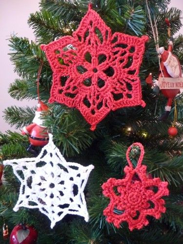 decoration-noel-au-crochet.jpg | Crochet patterns | Pinterest ...
