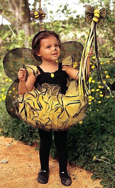 Halloween Costumesmakeup A Very Cute Bee Costume For Little Girls