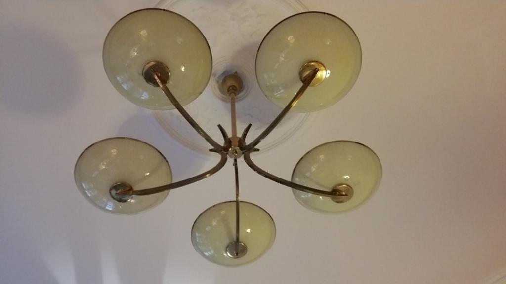 Deckenlampe Glas In Berlin Schoneberg Lampen Gebraucht