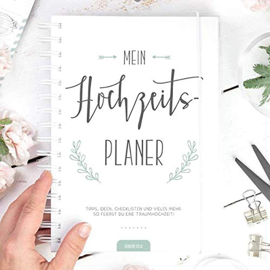 Hochzeitsplaner Mit Checklisten Und Zeitplan Hardcover Weiss