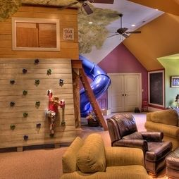 cool basements for kids | such a cool basement for kids! | Dream House!