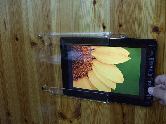 Acrylic Wall Hanging Holder For 10 Inches Tablets Acrylic Wall Hangings Acrylic Mounts Tablet