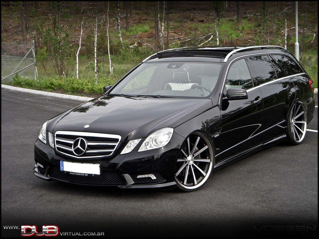 Tuning wald international mercedes benz e class estate w211 - Mercedes Benz E Class Wagon Beautiful