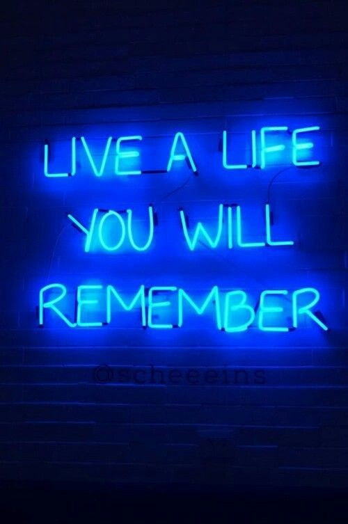 Light And Life Neon Quotes Neon Words Neon Signs