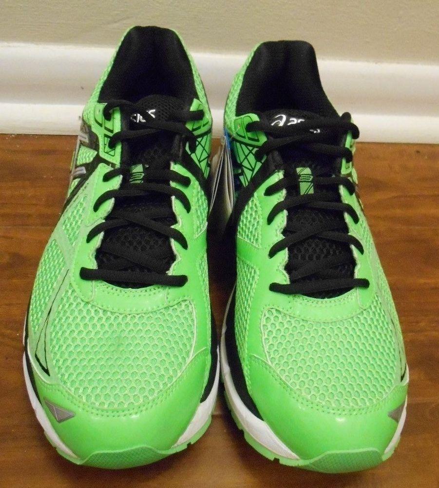 Asics GT 2000 3 Size 9.5 Green Gecko Silver Black Running