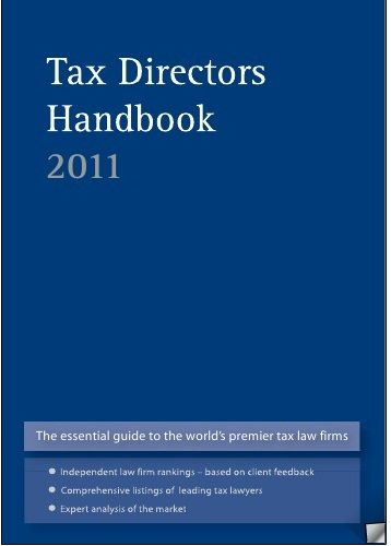 The Tax Director S Handbook Tax Lawyer Law Firm Director
