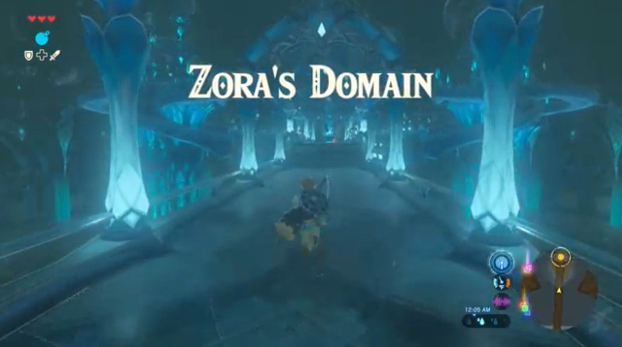 Zora S Domain Most Beautiful Place Ever Legend Of Zelda All Video Games Breath Of The Wild