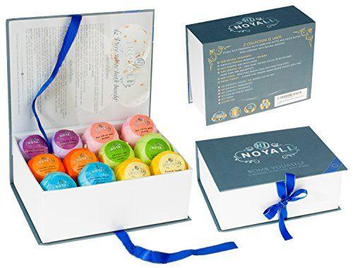 12 premium lush bath bombs gift box luxurious handmade fizzies 12 premium lush bath bombs gift box luxurious handmade fizzies 6 each 25 3 oz 100 natural ingredients rich fragrances essential oils negle Images