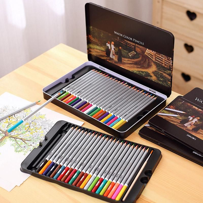 Water Colour Soluble Pencils for Art Sketching Painting /& DrawingPack of 12