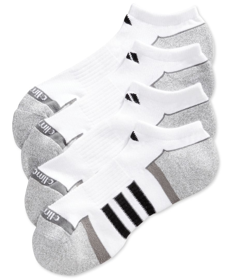bbff12376d31e3 These no-show athletic performance socks by adidas provide protection from  high impact and moisture-wicking to keep your feet dry and comfortable.