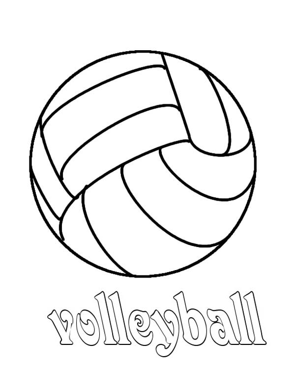 Volleyball Coloring Page Download Print Online Coloring Pages For Free Color Nimbus Online Coloring Pages Coloring Pages Online Coloring