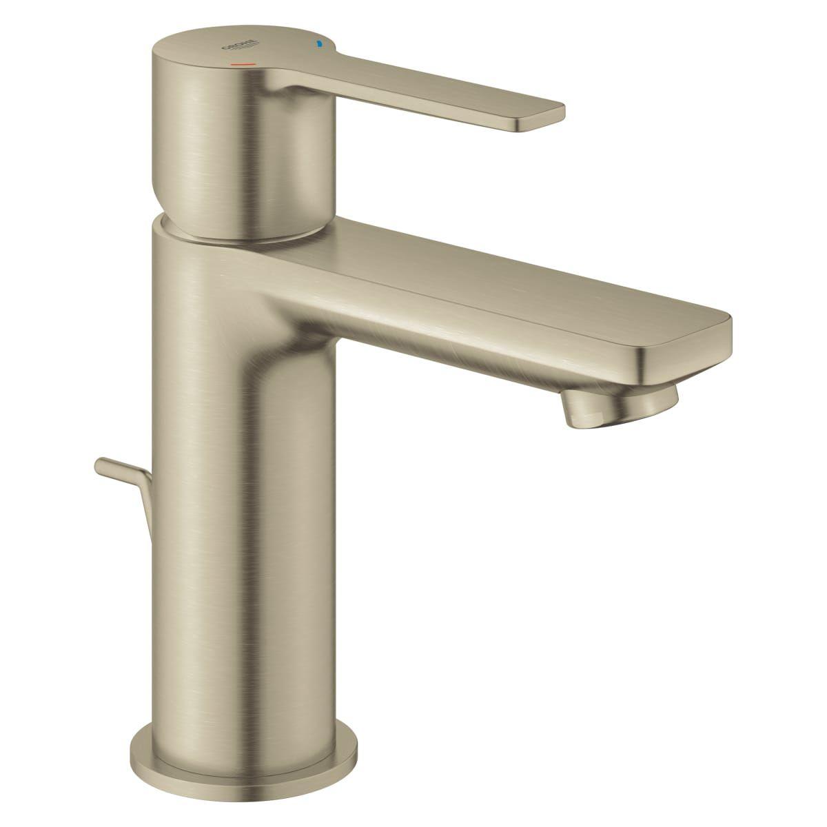 Grohe 23824ena Lineare 1 2 Gpm Deck Mounted Build Com Bathroom Faucets Single Handle Bathroom Faucet Single Hole Bathroom Faucet [ 1200 x 1200 Pixel ]