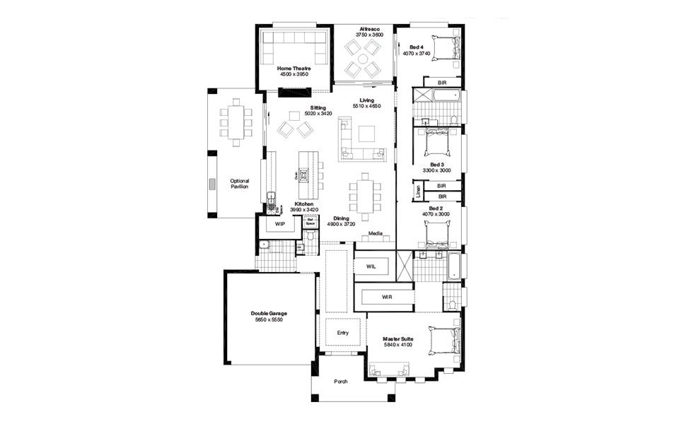 Floorplan of the Prelude by Masterton Homes - perfect for us ...