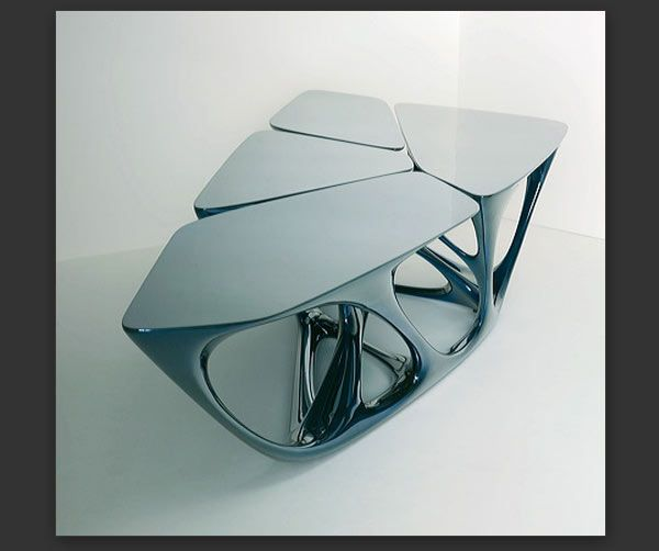 Zaha Hadid Furniture Designs: Muebles De Arquitecto: 02 Zaha Hadid, MESA