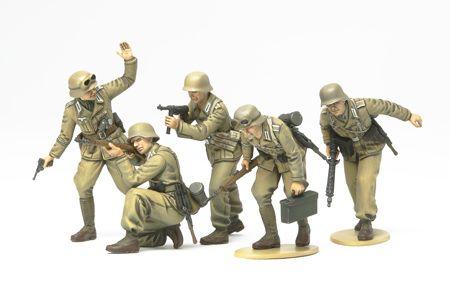 Tamiya WWII German Africa Corps Infantry Set 1/35th Scale Plastic Models | Hobbies