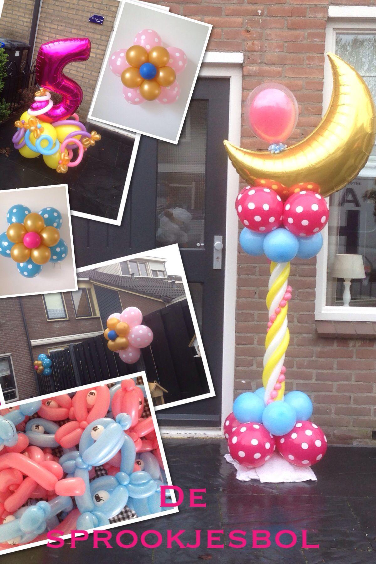 Kinder verjaardag ballon decoratie verzorgt door de for Decoratie verjaardag