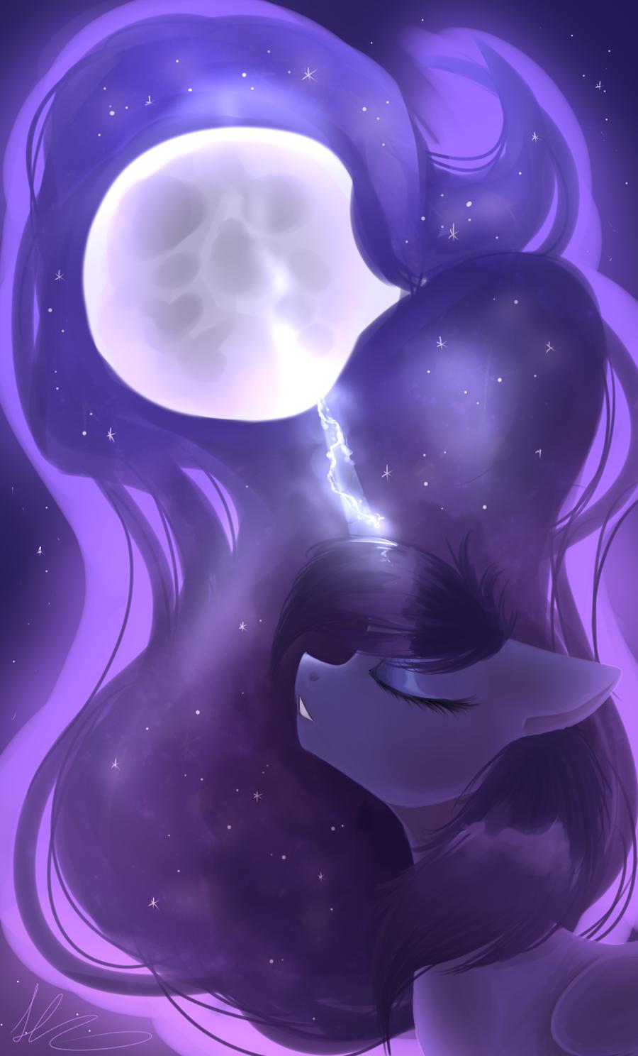 Luna by HarmoniousRain.deviantart.com on @deviantART