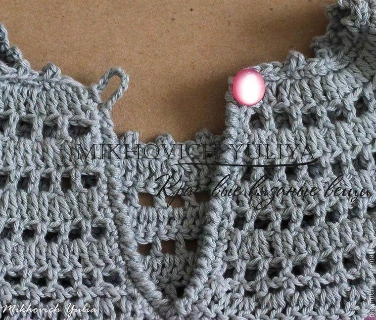 Robe fille , avec son pas à pas en image ! | Crochet | Pinterest ...