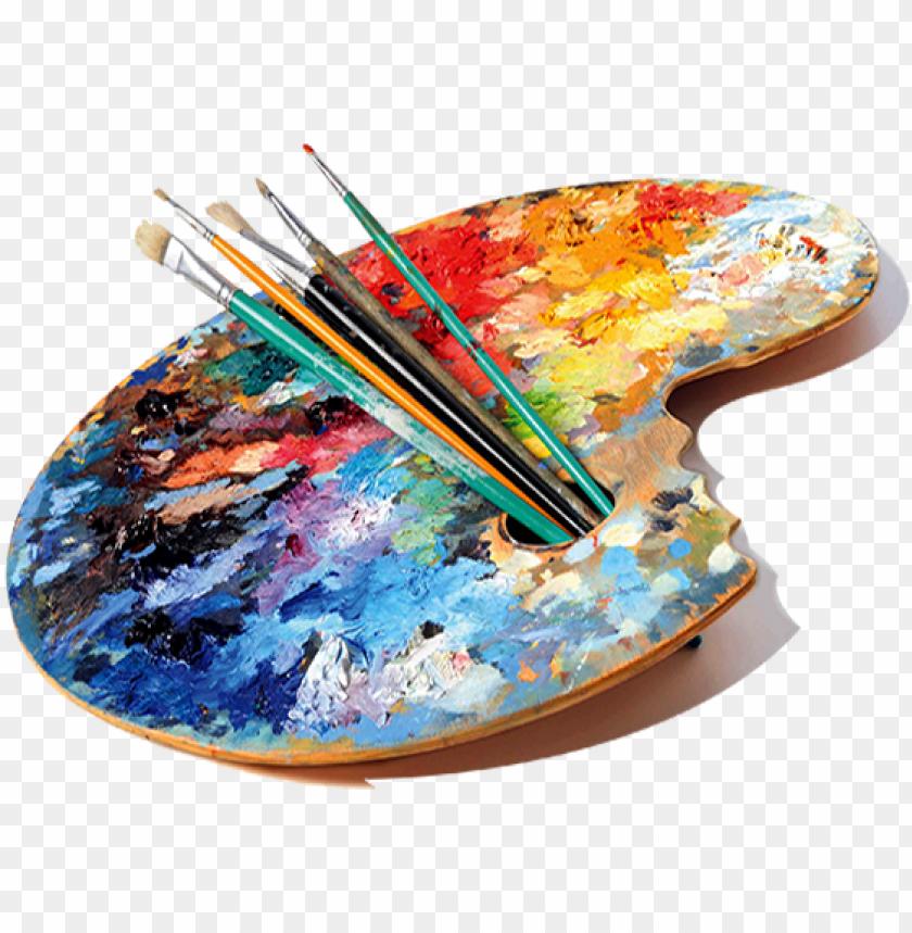 Artist Colour Palette Png Image With Transparent Background Png Free Png Images Palette Art Artist Palette Png Images