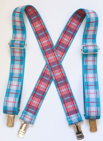 Boy's Suspenders tutorial from Sew Mama Sew