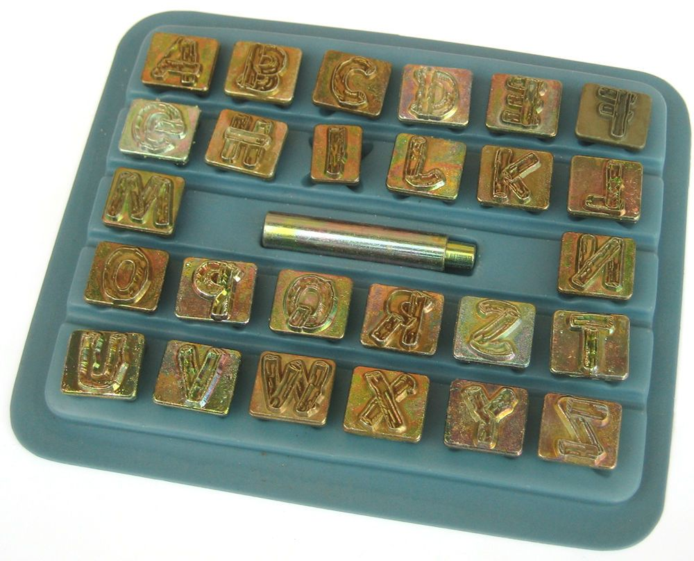 """Leather Stamp 3//4/"""" TANDY Craftool  ALPHABET SET Single Replacement LETTER"""
