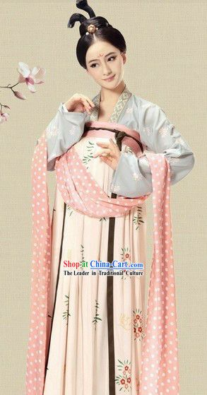 3b86e919f Ancient China Tang Dynasty Female Chinese Hanfu Clothing Complete Set for  Women Lakewood