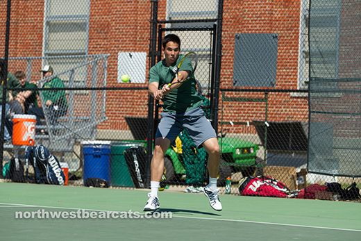 Julien Couronne named Tennis Athlete of the Week