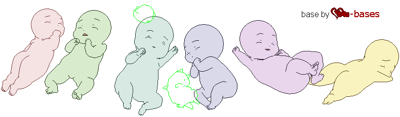 Babies Group Base Request Anime Base Drawing Base Baby Drawing