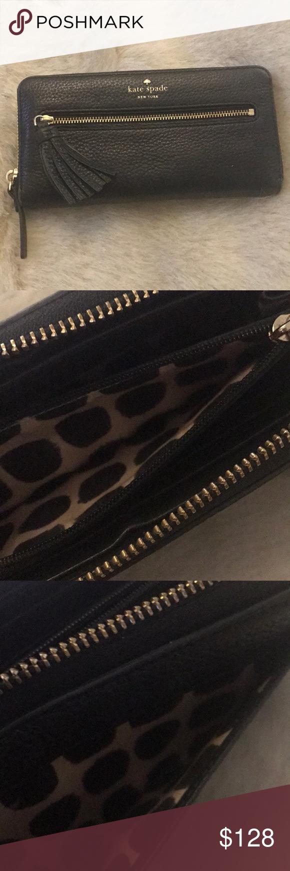 ❤️❤️HP⭐️AUTHENTIC KATE SPADE TASSEL WALLET Authentic Kate Spade Wallet. Zip around Wallet. Tassel de...