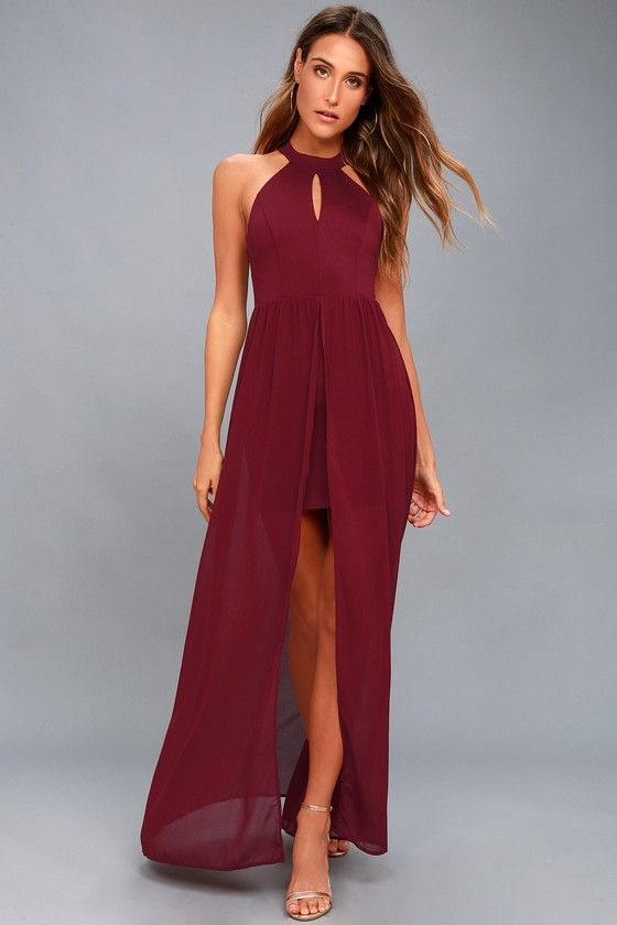 29d2ff16ba6 My Beloved Burgundy Lace Maxi Dress 5