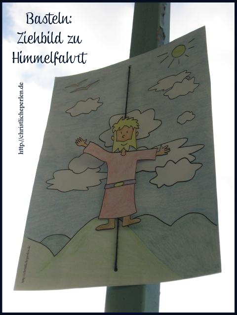 Himmelfahrt ziehbild photo kinderkirche pinterest for Kindergottesdienst herbst