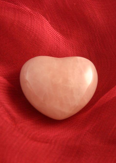 Rose Quartz Heart Chakra Stone